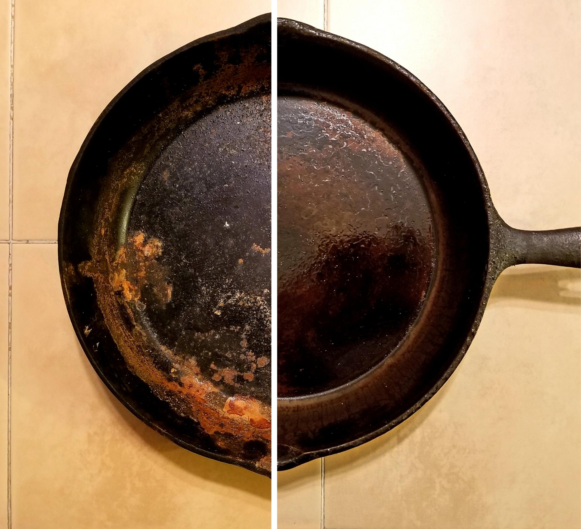 Enlever La Rouille Sur Une Grille De Barbecue votre poêle de fonte – blogue food la bouffe